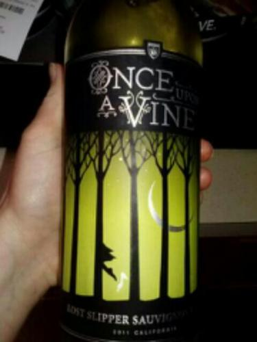 Once Upon a Vine - Lost Slipper Sauvignon Blanc - 2011