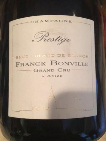 Franck Bonville - Champagne Grand Cru Prestige Blanc de Blancs Brut - N.V.