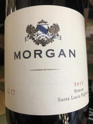 Morgan - G17 Syrah - 2017
