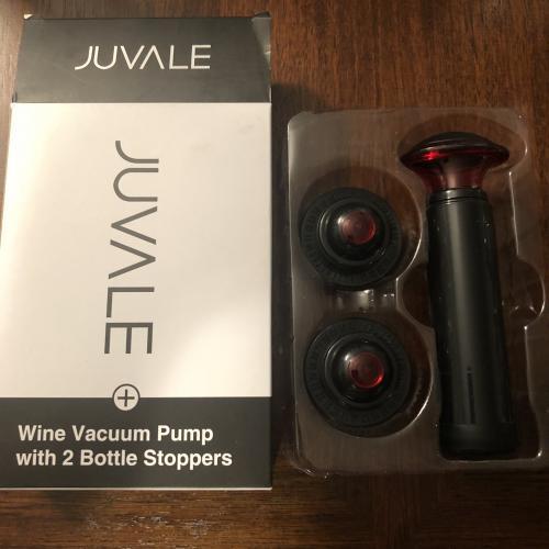 Wine Vacuum Pump by Juvale