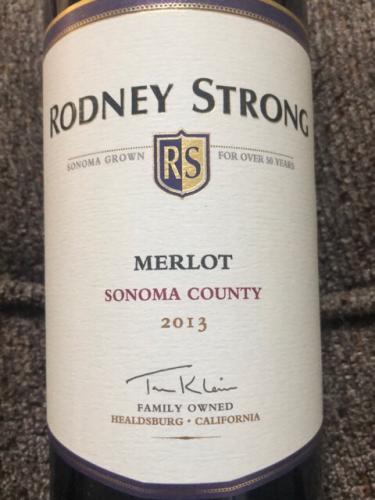 Rodney Strong - Merlot - 2013