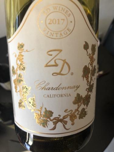ZD Wines - Chardonnay - 2017