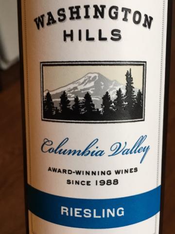 Washington Hills - Riesling - 2013