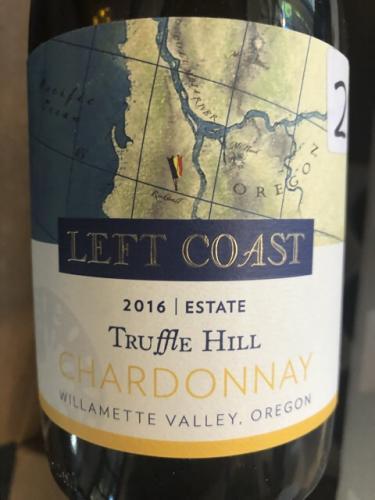 Left Coast Cellars - Truffle Hill Chardonnay - 2016