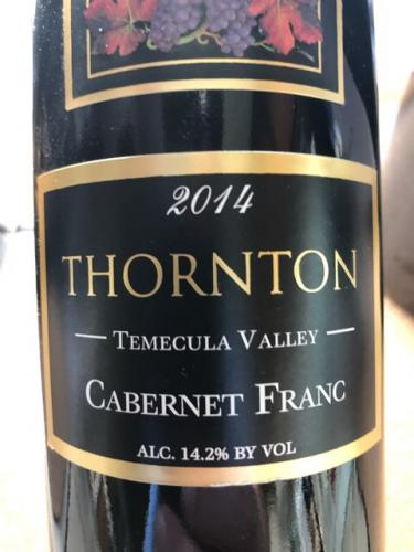 Thornton - Cabernet Franc - 2014