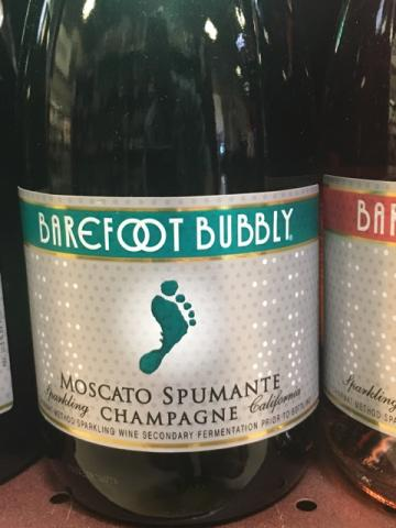 Barefoot - Bubbly Moscato Spumante - N.V.