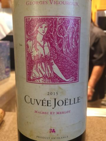 Georges Vigouroux - Cuvée Joëlle Malbec - Merlot - 2015