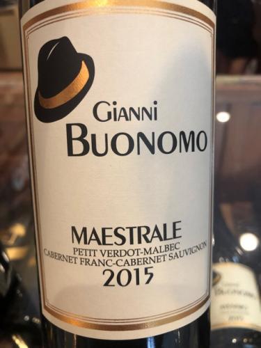 Gianni Buonomo - Maestrale Petit Verdot - Cabernet Sauvignon - 2015