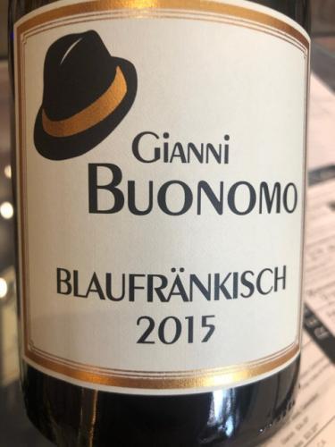 Gianni Buonomo - Blaufränkisch - 2015