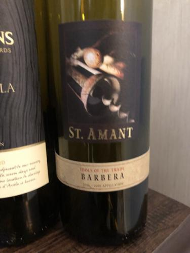 St. Amant - Tools of The Trade Barbera - 2013