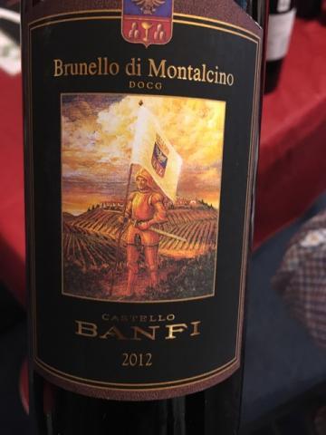 Castello Banfi - Brunello di Montalcino - 2012