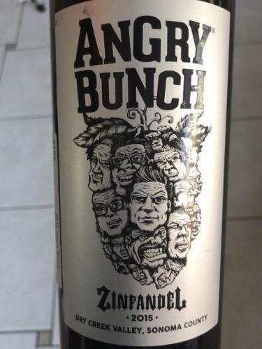 Angry Bunch - Zinfandel - 2015