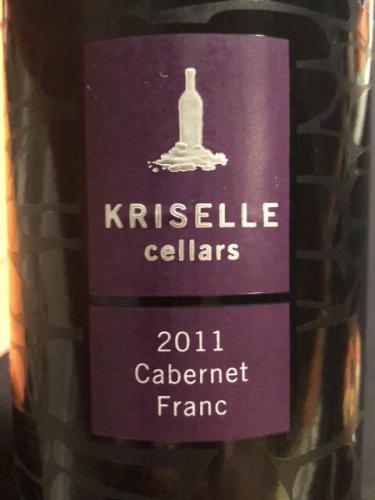 Kriselle - Cabernet Franc - 2011