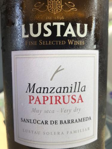 Lustau - Papirusa Manzanilla (Solera Reserva) - N.V.