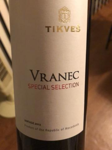Tikveš Winery - Vranec Special Selection - 2013