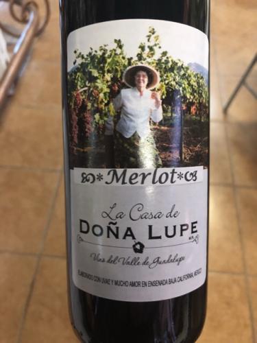 Casa de Dona Lupe - Merlot - 2012