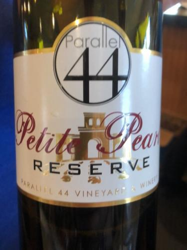 Parallel 44 - Reserve Petite Pearl - 2016