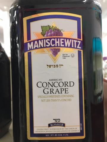 Manischewitz - Concord - 2008