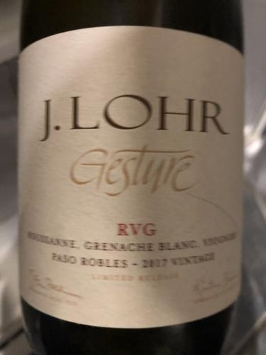 J. Lohr - Gesture RVG - 2012