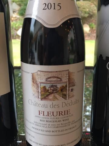 Georges Duboeuf - Château des Déduits Fleurie - 2015