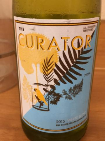 Badenhorst Family Wines - The Curator White Blend - 2015