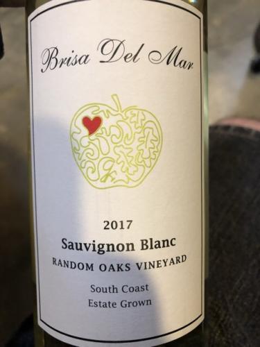 Brisa del Mar - Random Oaks Vineyard Sauvignon Blanc - 2017