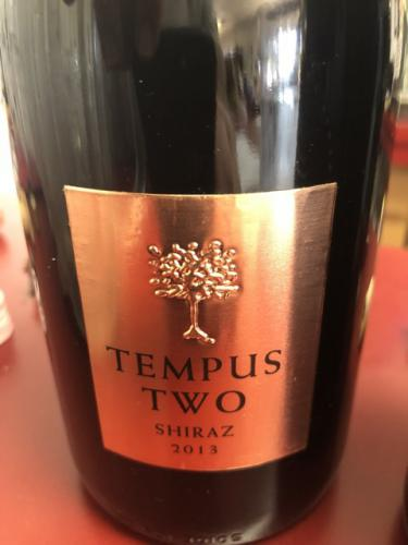 Tempus Two - Copper Series Shiraz - 2013