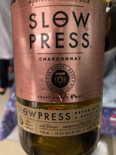 Slow Press - Chardonnay - 2016