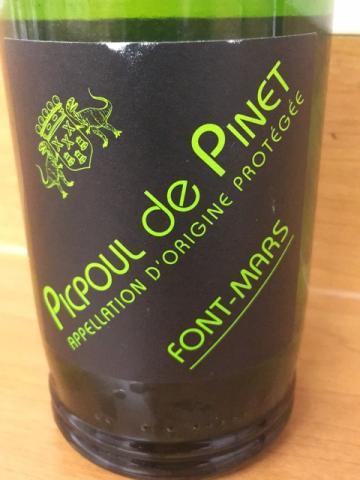Font-Mars - Picpoul de Pinet - 2016