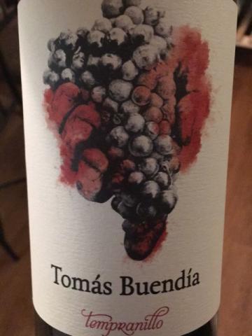 Tomás Buendía - Tempranillo Enologo -