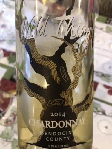 Carol Shelton - Wild Thing Chardonnay - 2014