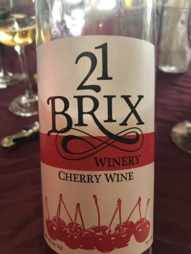 21 Brix - Cherry Wine - 2013