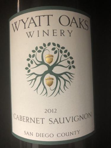 Wyatt Oaks Winery - Weston's Estate Cabernet Sauvignon - 2012