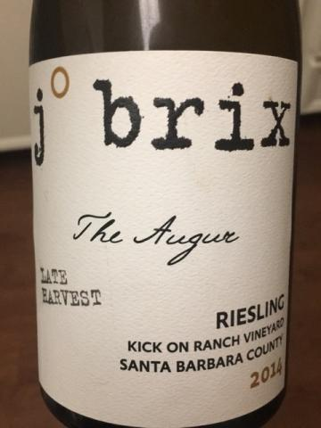 J.Brix - Kick on Ranch Vineyard The Augur Riesling Late Harvest -