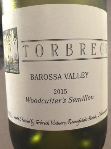 Torbreck - Woodcutter's Semillon - 2015