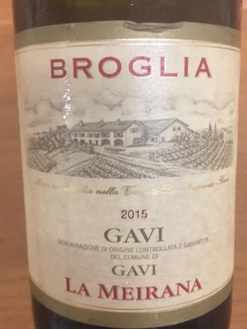 Broglia - La Meirana Gavi - 2015