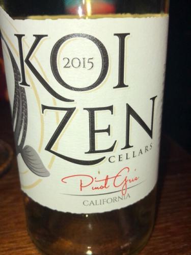 Koi Zen - Pinot Gris - 2015