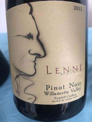 Lenné - Pinot Noir - 2015