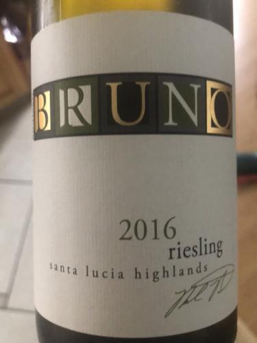 Richard Bruno - Riesling - 2016