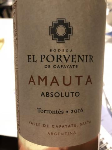Bodega El Porvenir de Cafayate - Amauta Absoluto Tannat - 2016