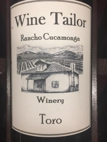 Wine Tailor - Toro - N.V.
