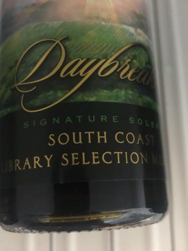 South Coast Winery - Daybreak - N.V.