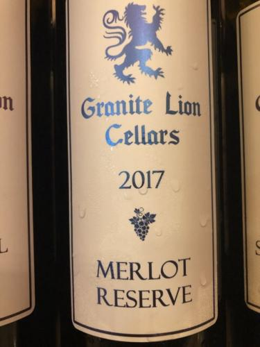 Granite Lion Cellars - Reserve Merlot - 2017