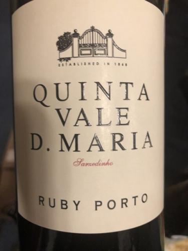 Vale D. Maria - Ruby Porto - N.V.