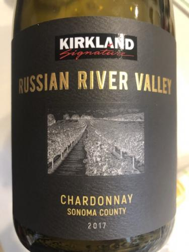 Kirkland Signature - Sonoma County Chardonnay - 2017
