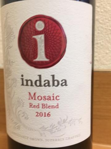 Indaba - Mosaic - 2016