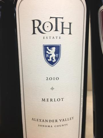 Roth Estate - Merlot - 2010
