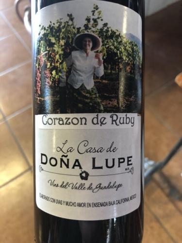 Casa de Dona Lupe - Corazon de Ruby - N.V.
