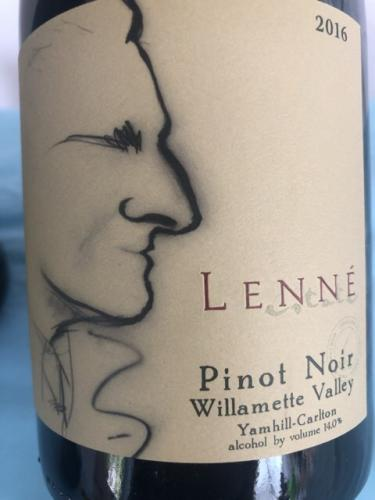 Lenné - Pinot Noir - 2016