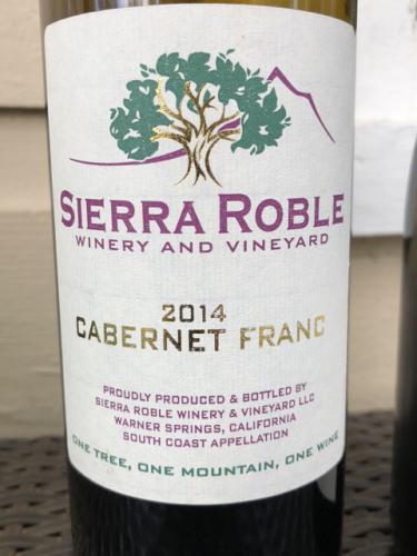 Sierra Roble - Cabernet Franc - 2014